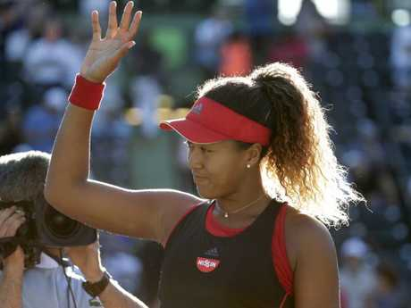 Naomi Osaka is making a serious name for herself.