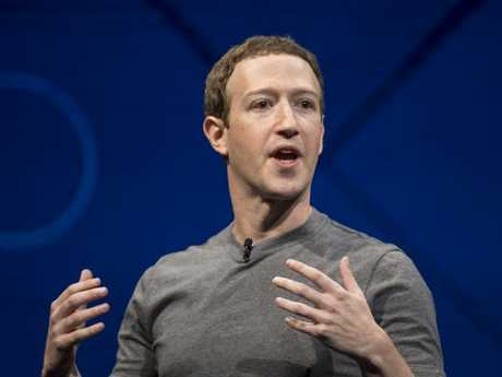 Mark Zuckerberg is facing calls to appear in person in front of politicians. Picture: Paul Morris/Bloomberg