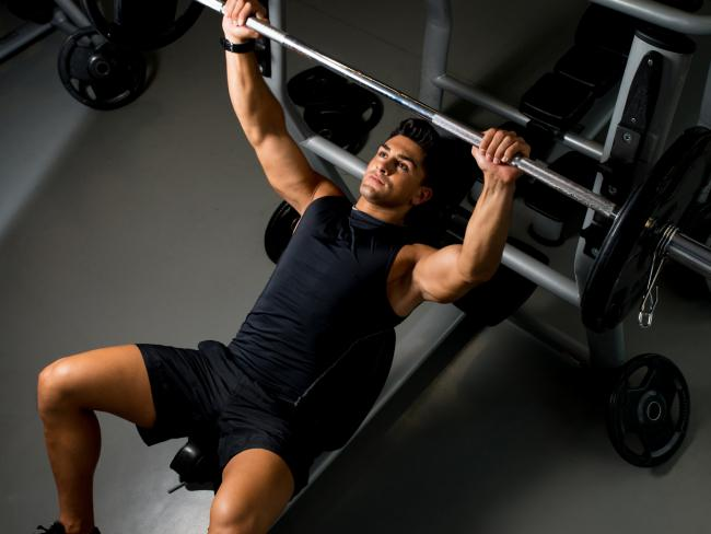 Lifting weights helps increase muscle mass which in turn increases your metabolism.