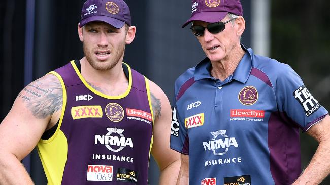 Matt Lodge has got Wayne Bennett's support.