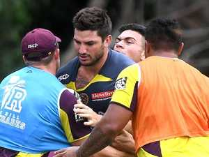 Broncos star denies exit talks, focuses on Origin