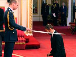 King William? Prince shows mettle in knighting music royalty