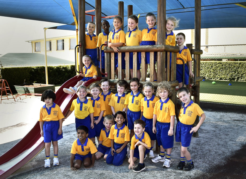 My First Year 2018: St Thomas More's Catholic Primary School. Prep Gold . February 2018