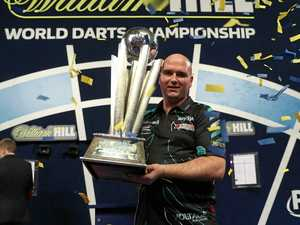 Brisbane gets world's best for darts showdown
