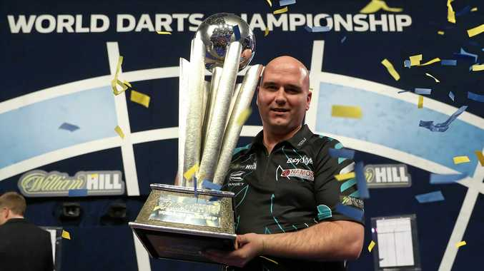 WILLIAM HILL WORLD DARTS CHAMPIONSHIP 2018ALEXANDRA PALACE,LONDONPIC;LAWRENCE LUSTIGFINALPHIL TAYLOR V ROB CROSS ROB CROSS WINS