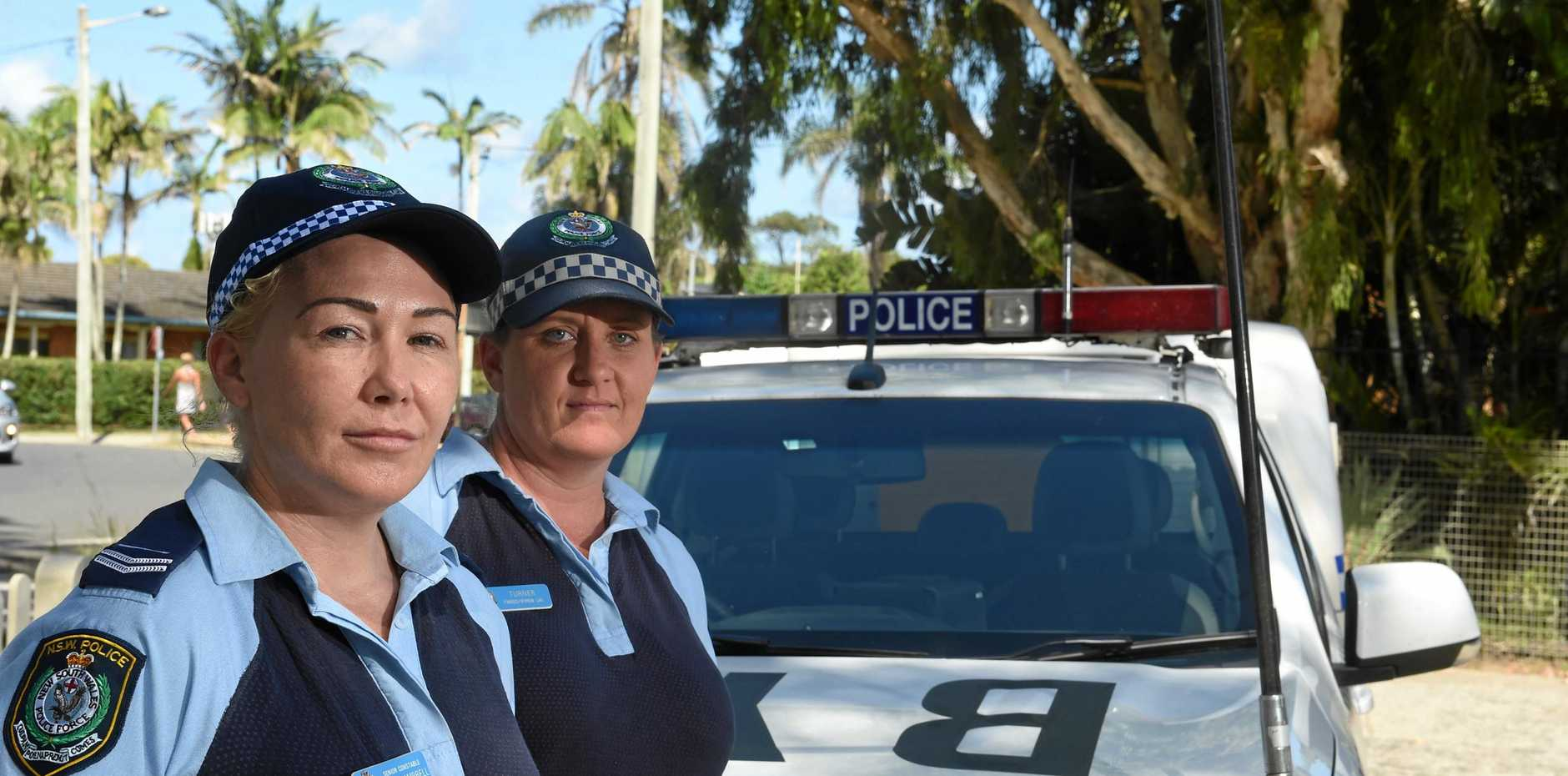 Senior constable Kylie Campbell and Jo Turner have both experienced violence on the job as police officers with suspects physically assaulting them in the course of their duties.
