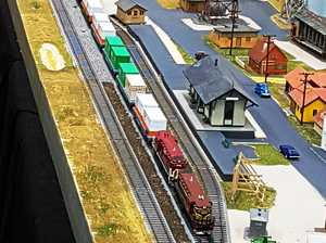 Model train display day is just around the bend