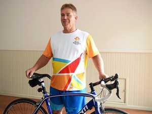 Rocky cycling champ's inspiring words ahead of baton relay