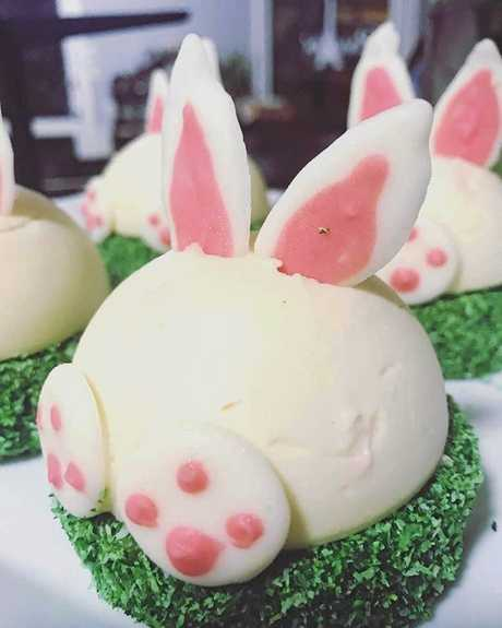 ParisiAnn always sells tasty baked goods, but the Easter collection looks even better.