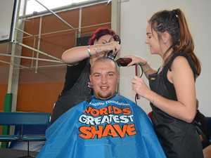 Shave for a cure WSHS 220318