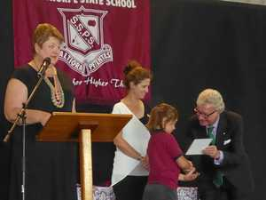 Stanthorpe State Primary School leaders inducted