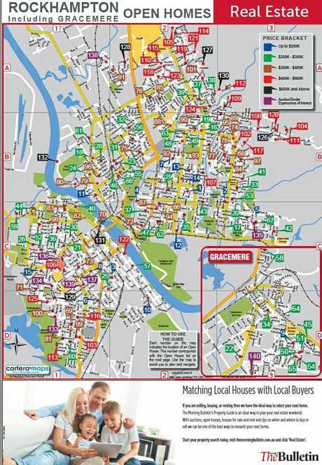 MAP 130 open homes across Rockhampton and Gracemere Rockhampton