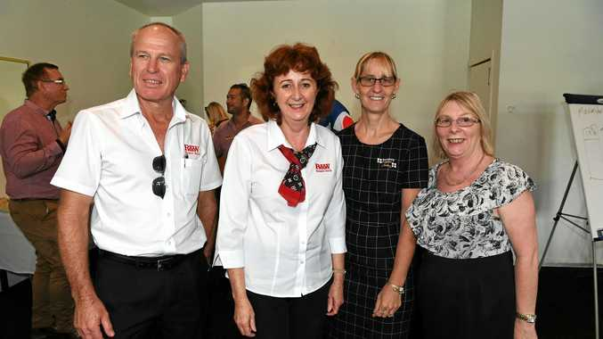 RENTAL SQUEEZE: REIQ Bundaberg zone chair Le-Anne Allan and Bundaberg Property Gallery principal Toni Kutchin.