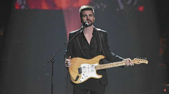 ON STAGE: Juanes performs at the 2018 MusiCares Person of the Year tribute honoring Fleetwood Mac at Radio City Music Hall on in New York.