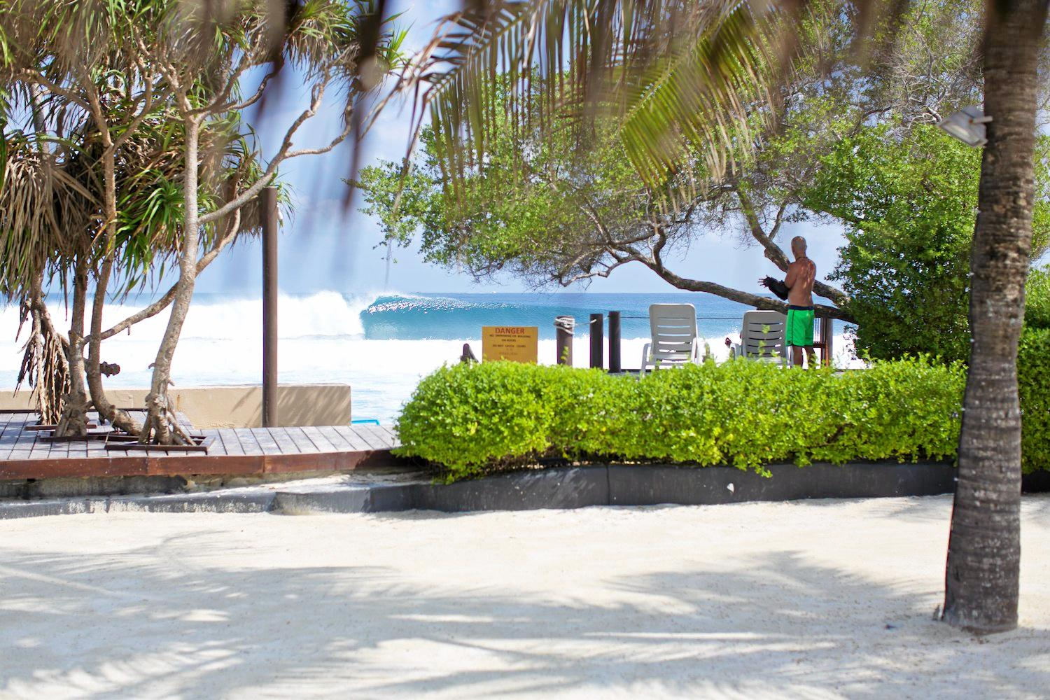 LOHIS surf break on North Male Island in the Maldives is another popular destination in the World Surfaris portfolio