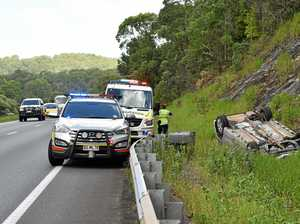 MAJOR DELAYS: Bruce Hwy at crawl after smash