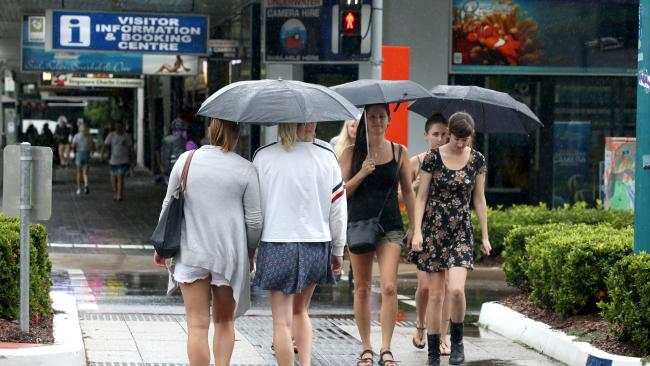 Toowoombaites can give their umbrellas a workout at the moment.