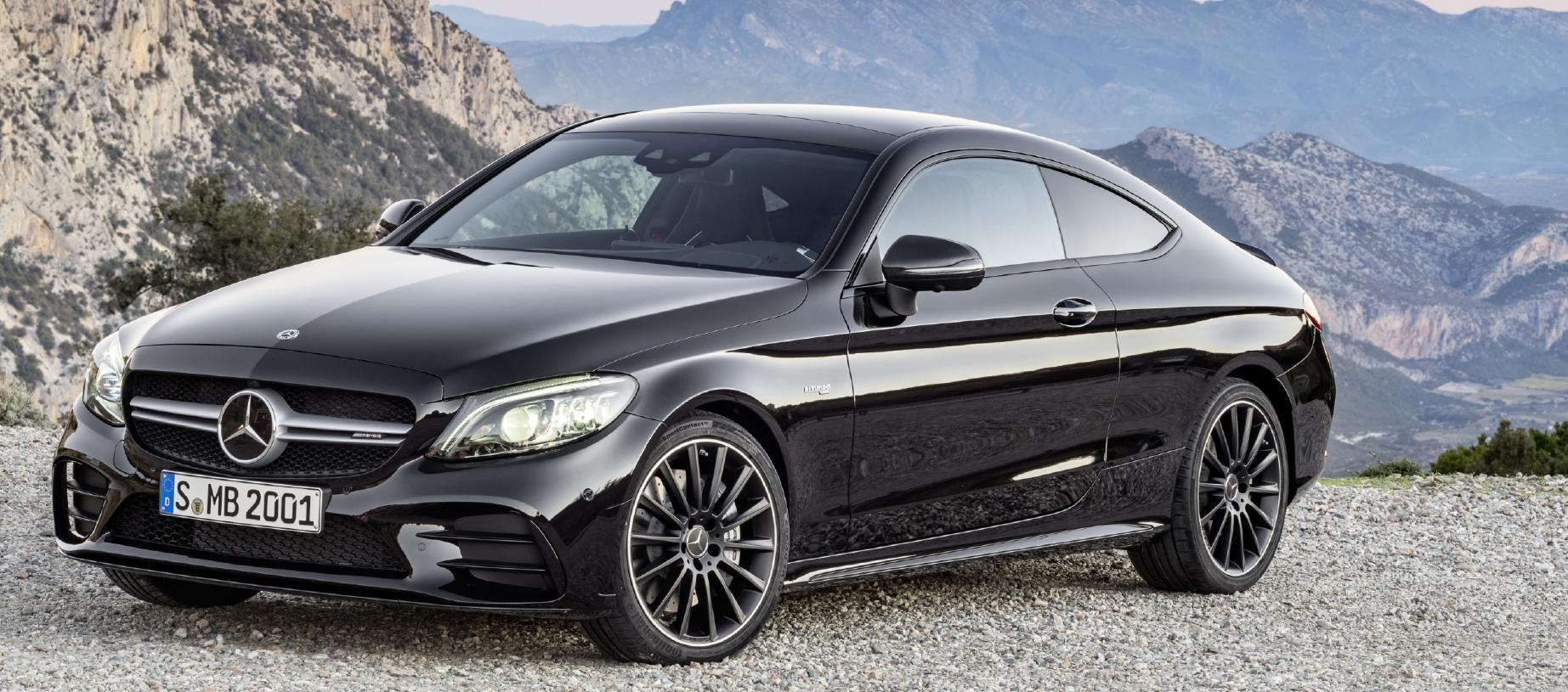 The Mercedes-AMG C43 Coupe headlines the line-up until the arrival of the C63. Picture: Supplied
