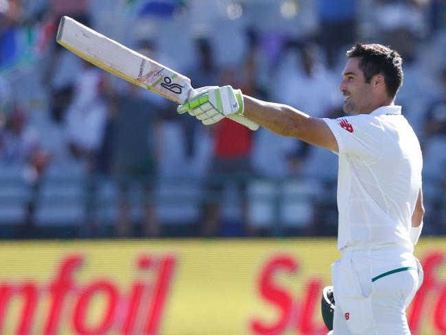 Dean Elgar proved the hero for South Africa.