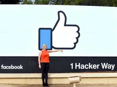 Facebook is under fire as the scandal builds over the hijacking of personal data from millions of its users. Picture: AFP Photo /Josh Edelson