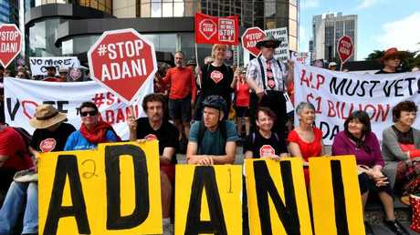 Some anti-Adani protests are expected at the Commonwealth Games, police say.