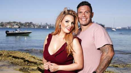 Rumour has it MAFS couple Telv Williams and Sarah Roza are done and dusted. Picture: Justin Lloyd