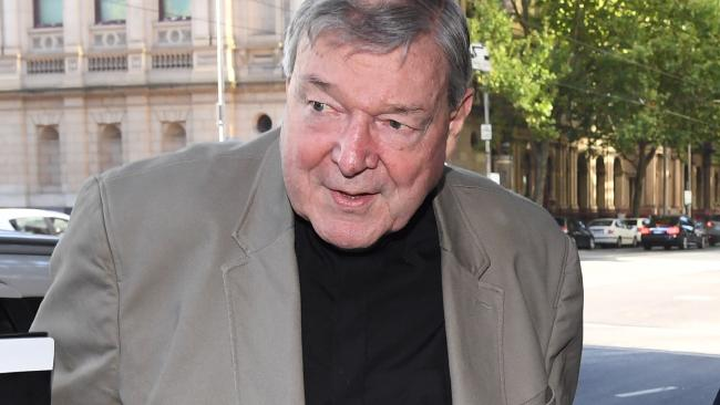 Cardinal George Pell. Picture: AAP Image/James Ross