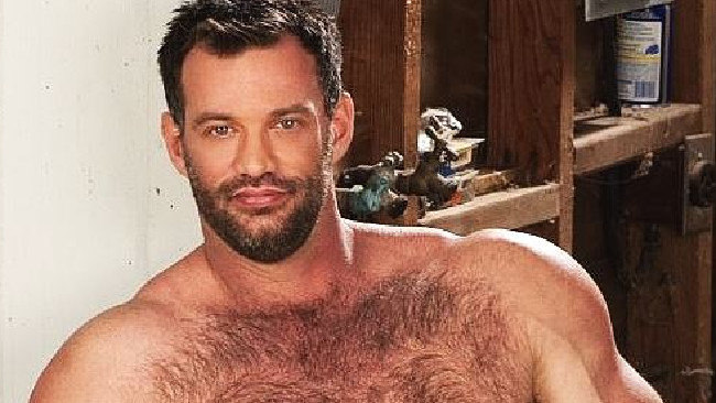Australian bodybuilder Scott Sherwood has been outed as porn star Aaron Cage. Picture: Supplied