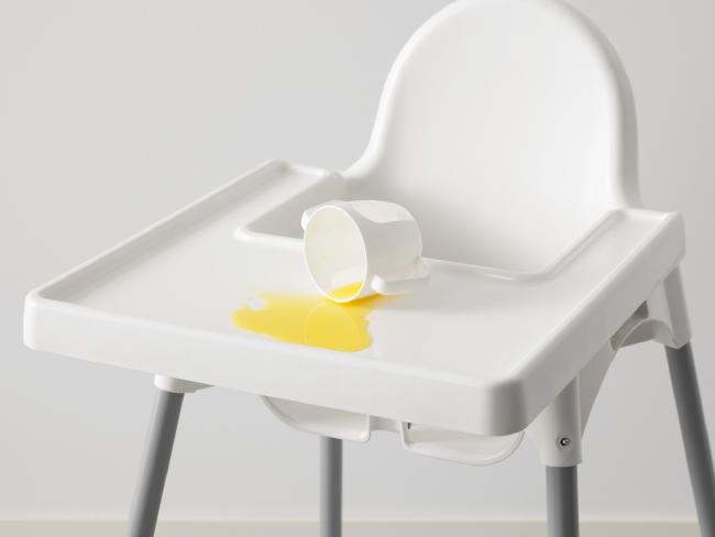 High chair spills are the bane of every parent's existence.