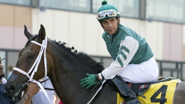 Jose Flores was at the top of his sport for three decades. (Kim Pratt, Parx Racing via AP)