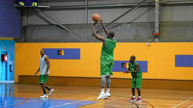WATCH: Cameroon basketballers train ahead of WIRAC match