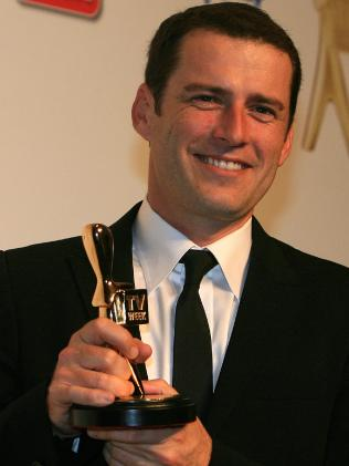 Karl Stefanovic won the gold Logie in 2011.
