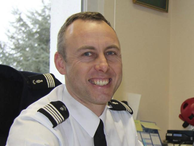 Arnaud Beltrame, the officer who offered to be swapped for a female hostage. Picture: Ouest France via AP