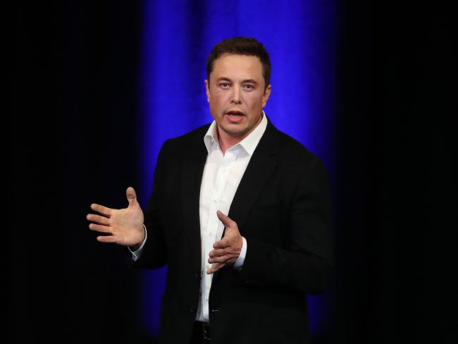 Tech inventor Elon Musk is in the middle of a bitter family feud. Picture: Dylan Coker