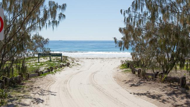 Police are investigating after two people were found dead at the northern tip of Bribie Island this morning. File picture