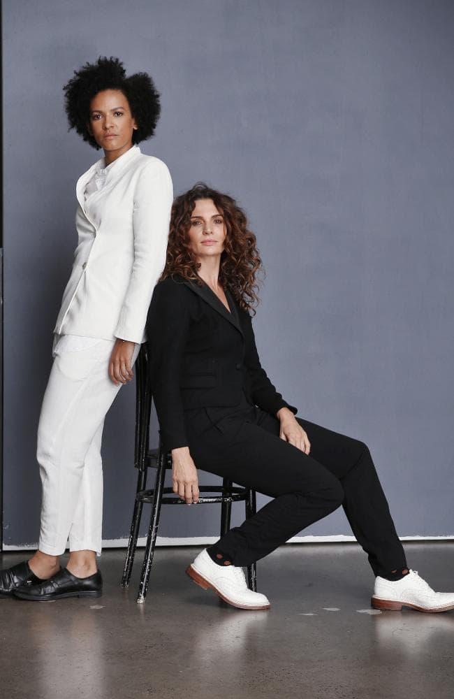 Now Australia ambassadors Zindzi Okenyo and Danielle Cormack Picture: Sam Ruttyn
