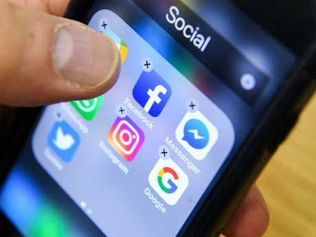 People are urging others to delete Facebook.  Picture:  AFP