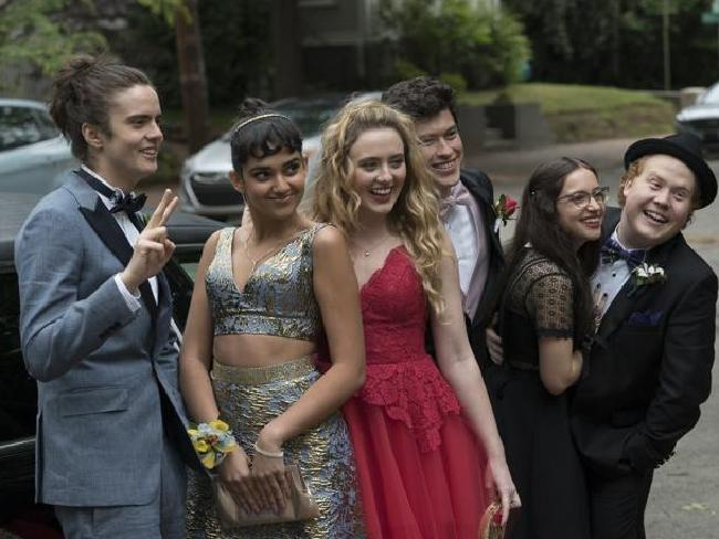 It's a prom night with a difference in the progressive sex comedy Blockers.
