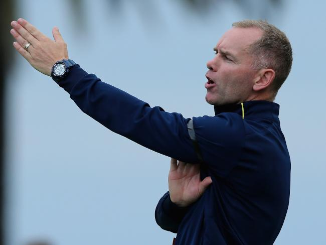 Central Coast Mariners' stand-in coach Wayne O'Sullivan.