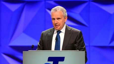 Telstra CEO Andrew Penn. (Pic: Aaron Francis/The Australian)