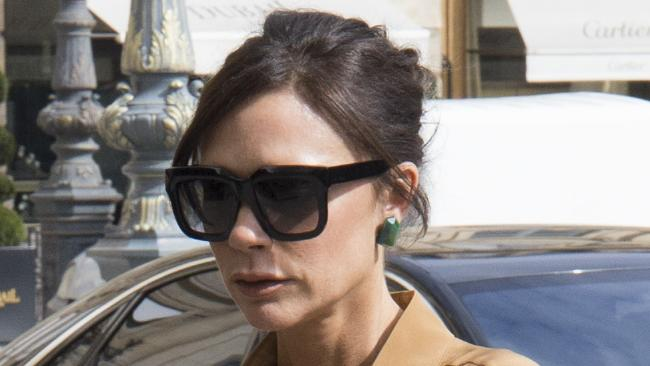 Victoria Beckham in Paris. Picture: MEGA