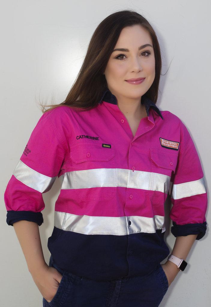Excavation Equipment general manager Catherine Ardi.