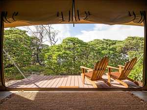 Camping in style with Lady Elliot Island Eco Resort