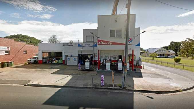 Manhunt underway after violent Casino servo robbery