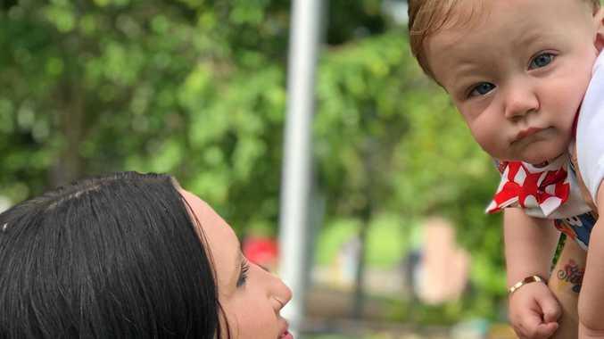 Alison Drake and her son Harrison Drake-Pretty.