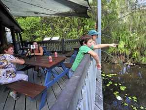 HAZARD: Tondoon Botantic Garden Cafe closed