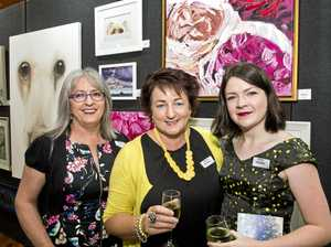 Toowoomba art show a stroke of fortune