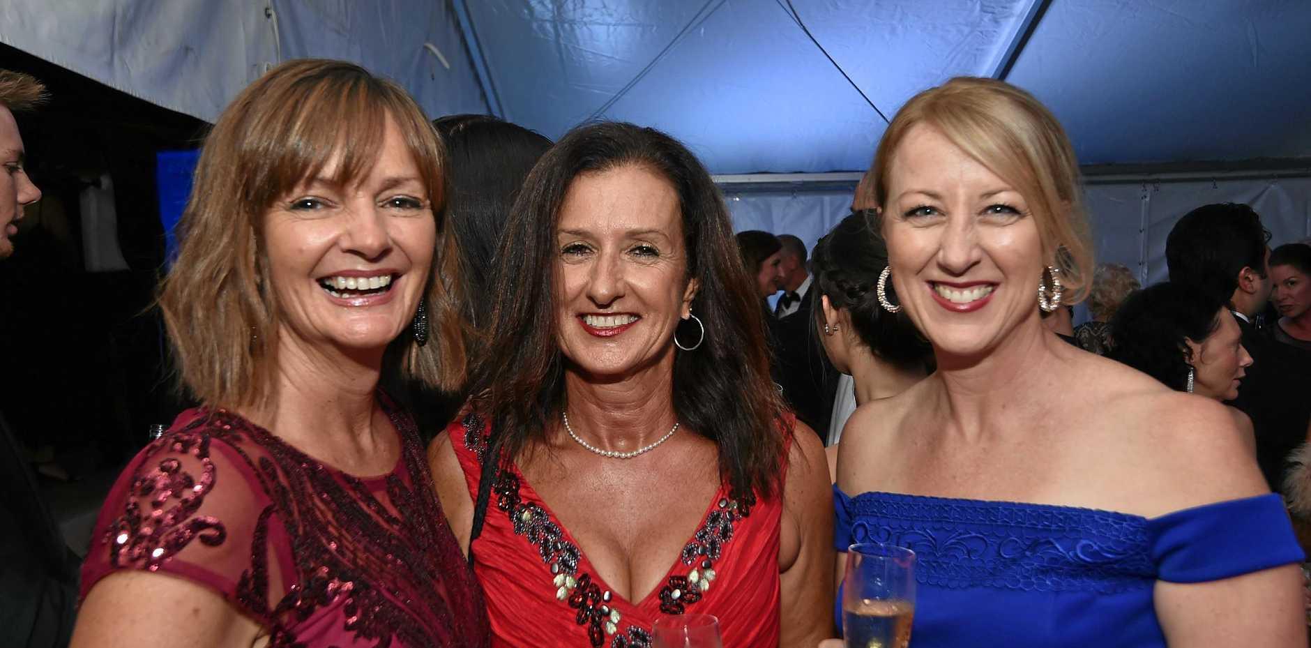 Michelle De Boer, Jina Lynch and Anna Michell.
