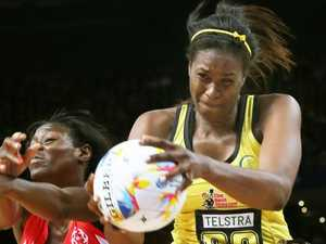 Jamaica netball danger team at Games