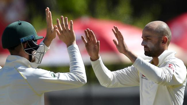 Nathan Lyon joined the 300 club.